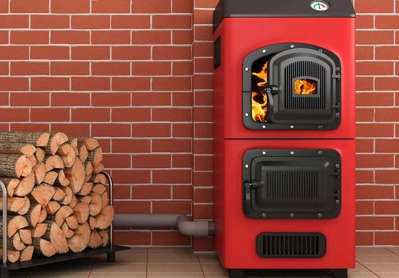 Centralna peč na drva je še vedno zelo popularen način za ogrevanje